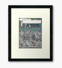 Mumbo jumbo of activity Framed Print
