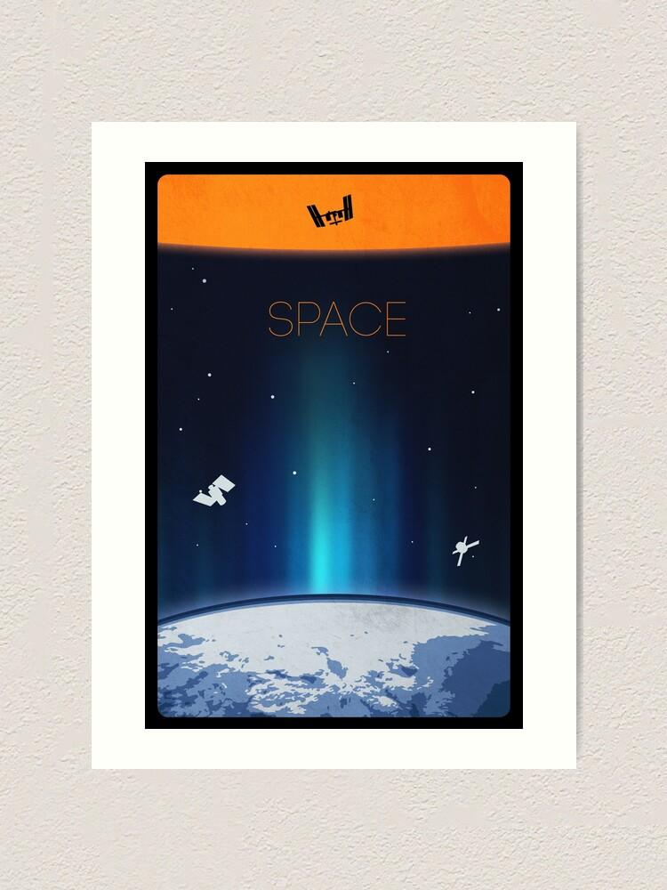 Alternate view of Space Art Print
