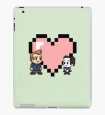 Community - Jeff and Annie 8-bit (style B) iPad Case/Skin