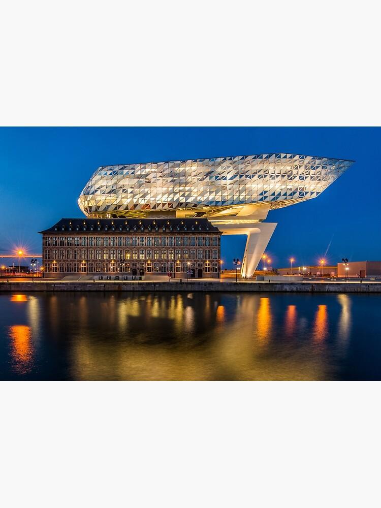 Antwerp Havenhuis by bertbeckers