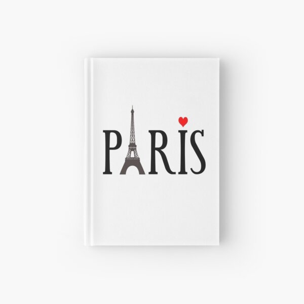 Paris eiffel tower Hardcover Journal