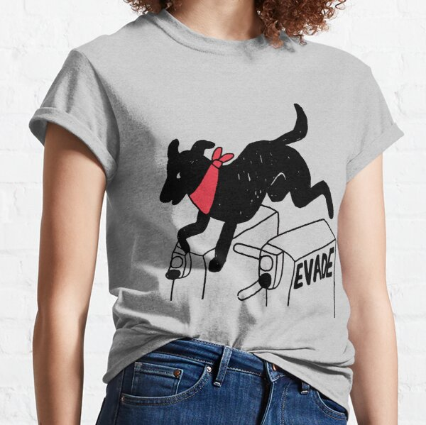 Negro Matapacos Riot Dog - Protest, Fare Evasion, Street Art  Classic T-Shirt