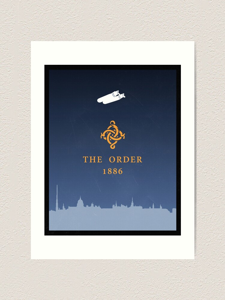Alternate view of The Order 1886: poster Art Print