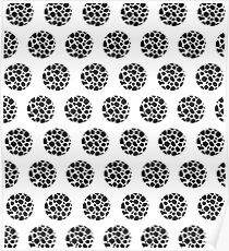 Po-Cow Dots Poster