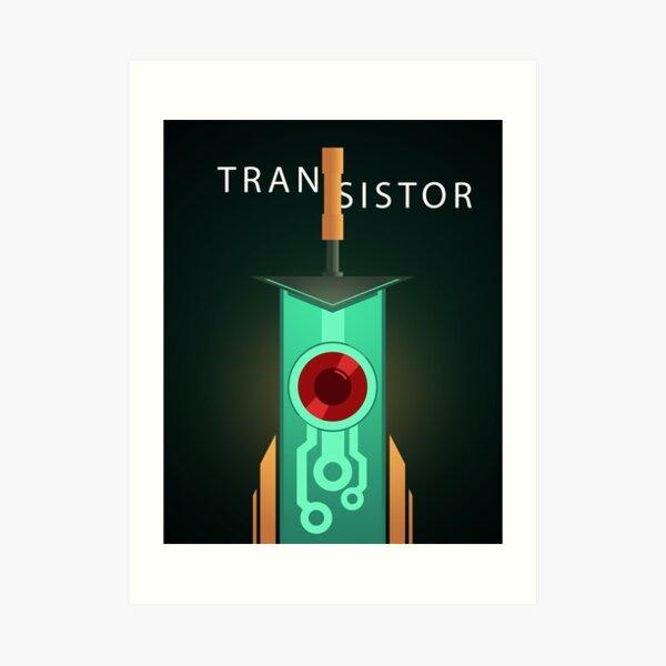 Transistor: poster [2] Art Print