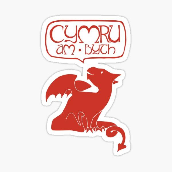 Cymru Am Byth Sticker
