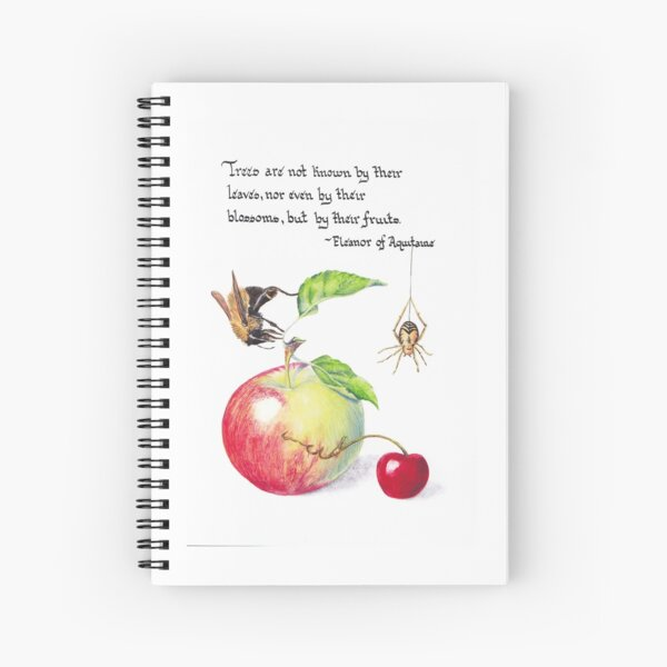 By Their Fruits Spiral Notebook