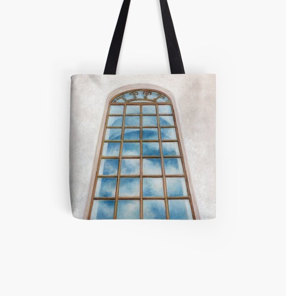 The mirror of heaven All Over Print Tote Bag