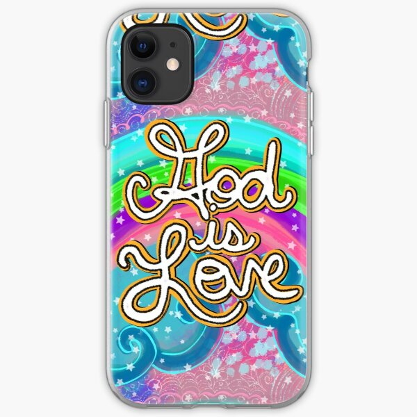 God is Love iPhone Soft Case