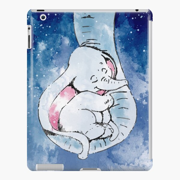 Dumbo and his mother, Mother and baby elephant iPad Snap Case