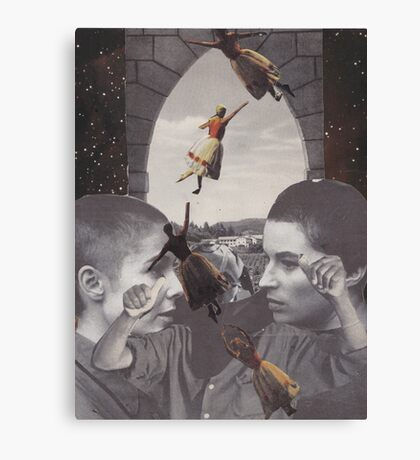 'Away I Go' Canvas Print