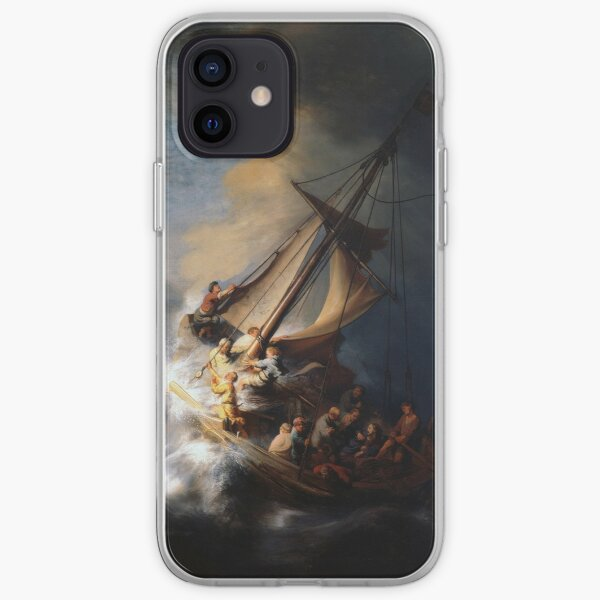 The Storm on the Sea of Galilee iPhone Soft Case