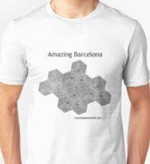 Modernist Gaudi Barcelona Tiles n2 T-Shirt