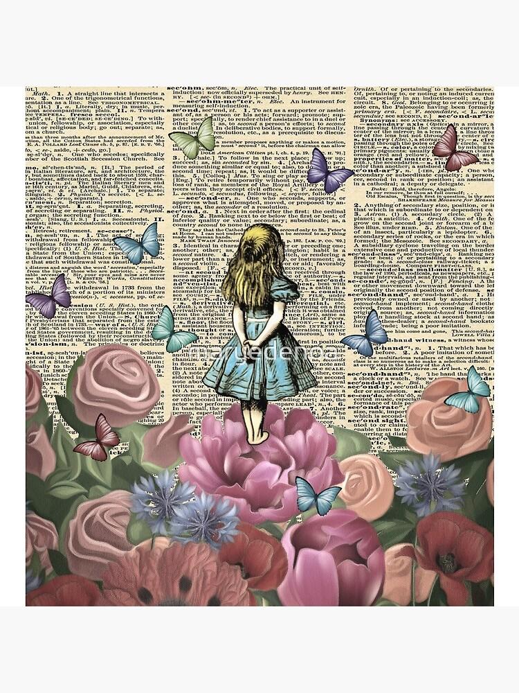 Alice In Wonderland - Wonderland Garden by maryedenoa
