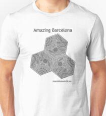 Modernist Gaudi Barcelona Tiles n1 T-Shirt