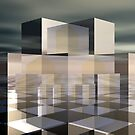 Cubic Reflections III by Hugh Fathers
