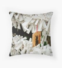 Fortunes and Prayer Throw Pillow