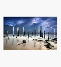 After The Thunder Photographic Print
