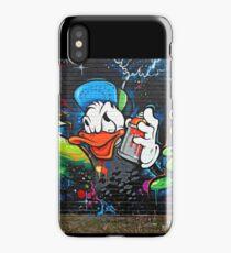 Graffiti Donald Duck  iPhone Case/Skin