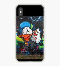 Graffiti Donald Duck  iPhone Case