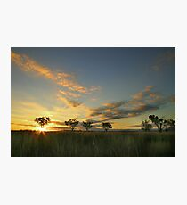 Sunset 'Willow Bend' Manilla NSW Photographic Print