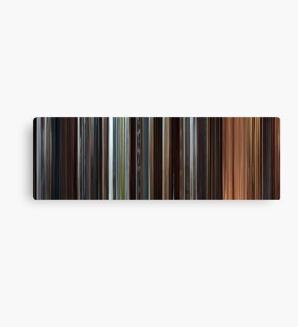 Moviebarcode: Star Wars: Episode II - Attack of the Clones (2002) Canvas Print