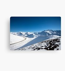 Lindis Pass, New Zealand Canvas Print
