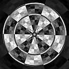 marble dartboard by Pat Heddles
