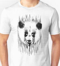 Creepy Panda Unisex T-Shirt
