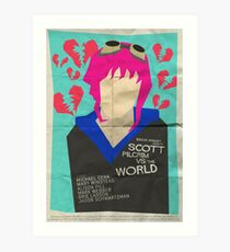 Scott Pilgrim Verses The World - Saul Bass Inspired Poster Art Print