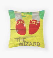Wizard Of Oz - Saul Bass Inspired Poster Throw Pillow