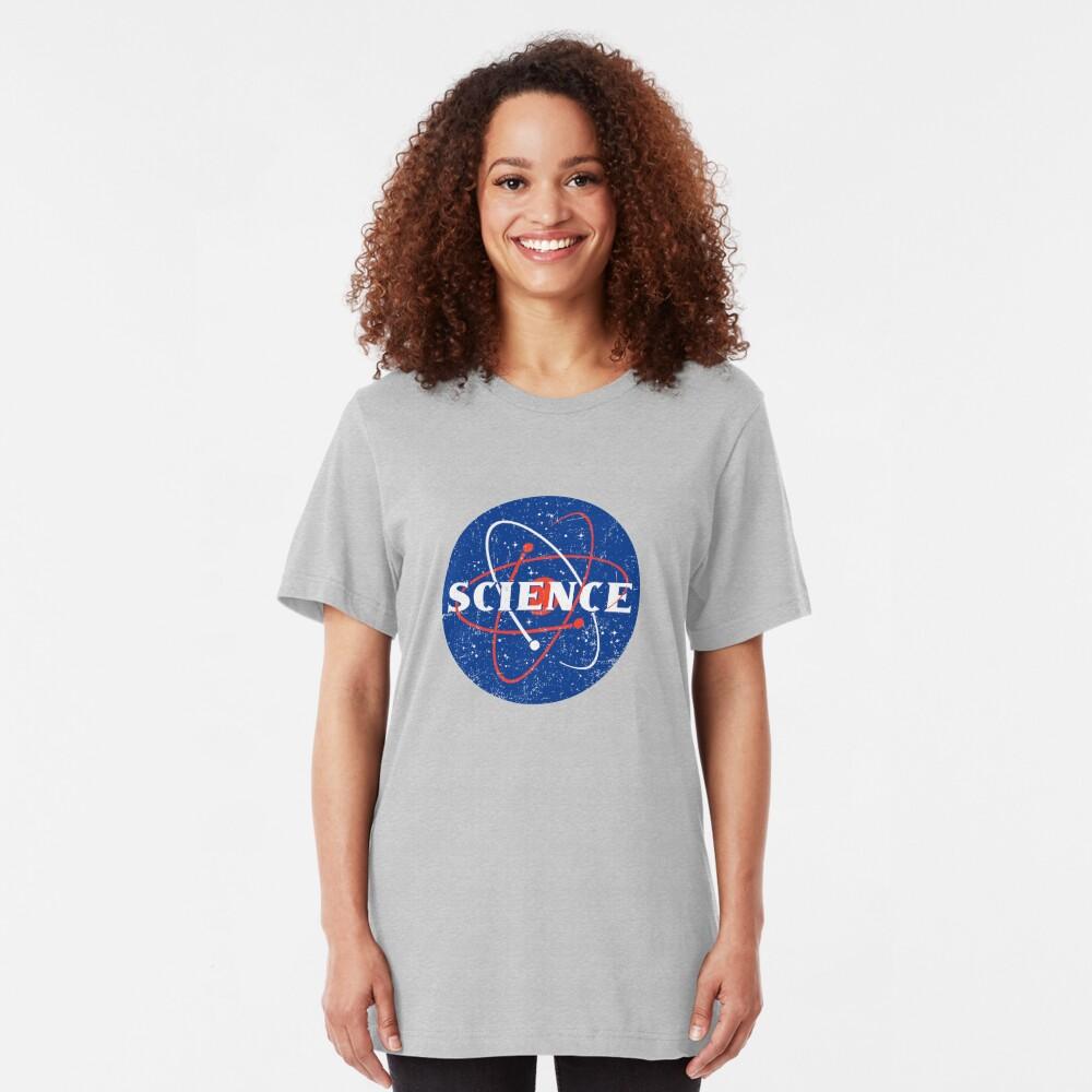 Vintage Science Slim Fit T-Shirt