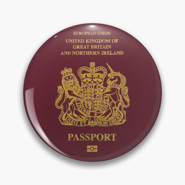 NDVH EU UK Passport Pin