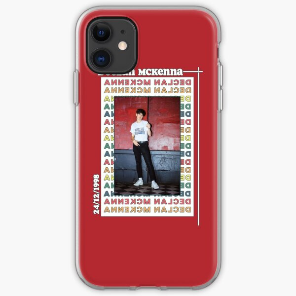 Retro Declan McKenna Poster iPhone Soft Case