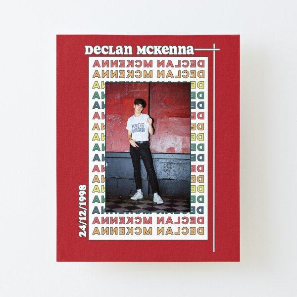 Retro Declan McKenna Poster Canvas Mounted Print
