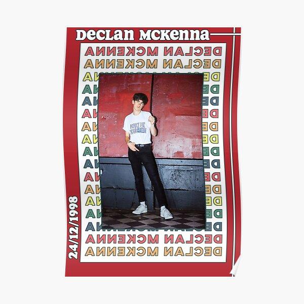 Retro Declan McKenna Poster Poster