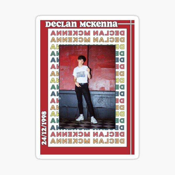 Retro Declan McKenna Poster Sticker