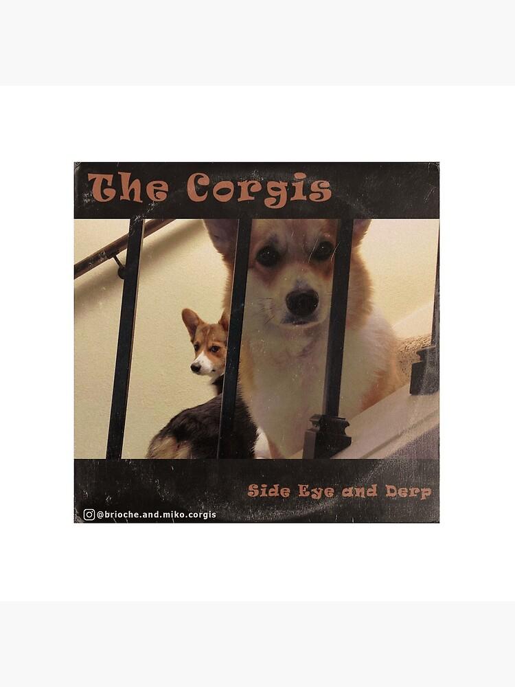 The Corgis Album Cover by petsinthemanor