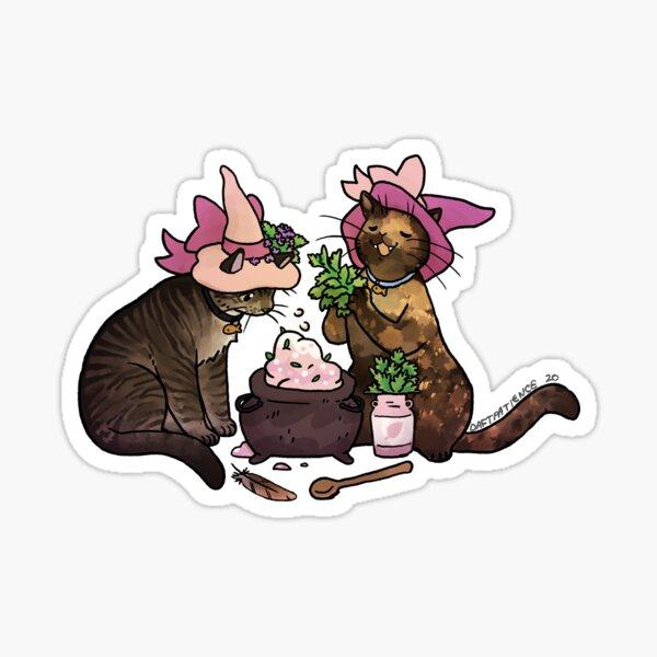 Josie and Lacey Sticker