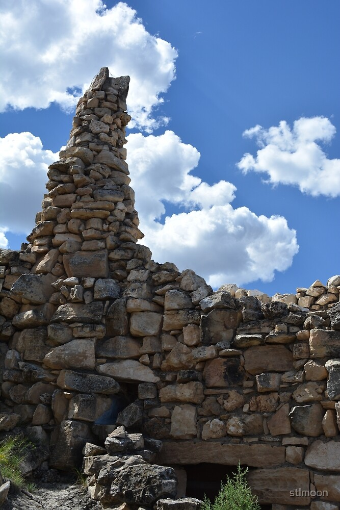 Hermit's Rest chimney, Grand Canyon National Park by stlmoon