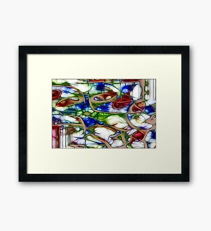 never expect anything less to happen than a wonder Framed Print