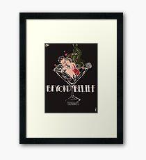 BEYOND BELIEF fandom art! Framed Print