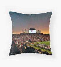 Jordan-Hare Stadium - Auburn University Throw Pillow