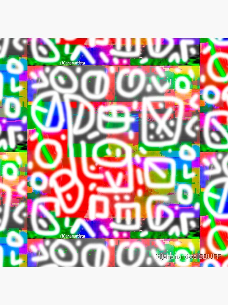 Impulsiveness (tribal digital art) by bananartista