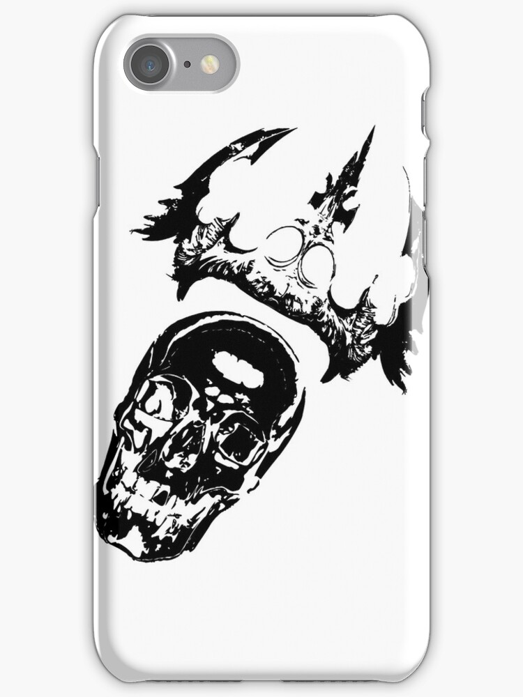 SKULL CASE  by karmadesigner