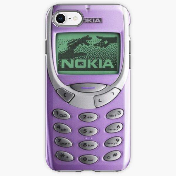 3310 Nokia Case - Vintage iPhone Case & Cover Purple iPhone Tough Case