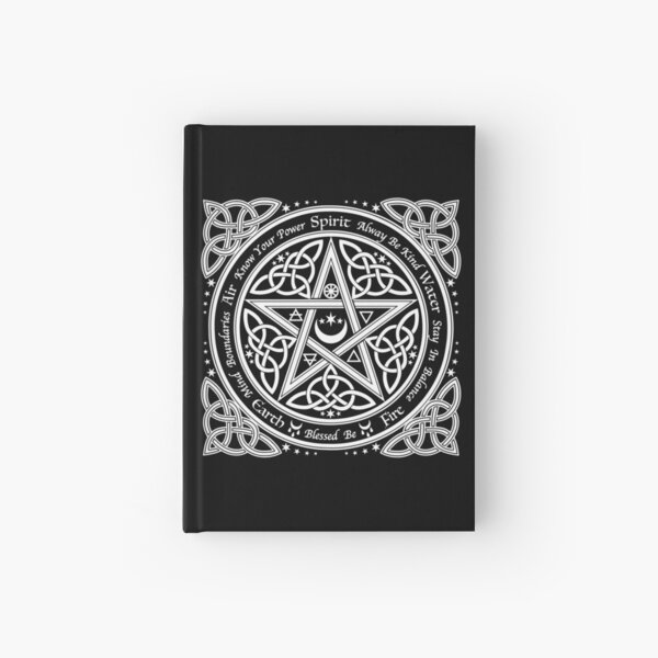 Pentagram Symbol Hardcover Journal