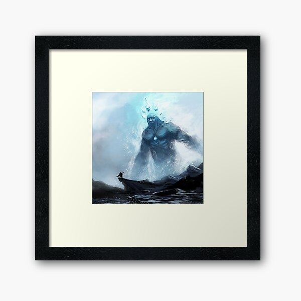 Coldheart Colossus     Framed Art Print