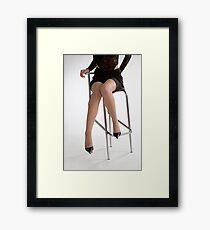 Glamour legs 7 Framed Print