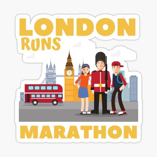 RUNAHOLIC Sticker Run Sprint Race Vinyl Decal Marathon Ironman 13.1 5k 26.2 Gift